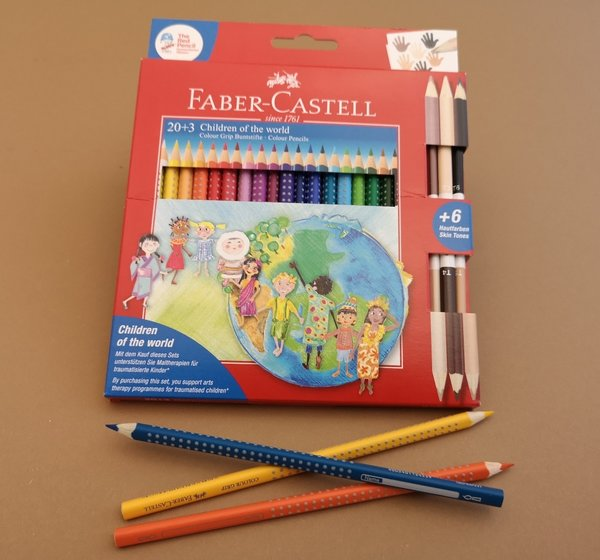 Faber Castell Colour Grip 20+3